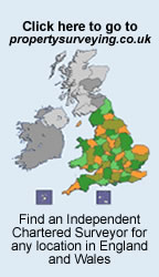 For Property Surveys elsewhere in England and Wales go to the property surveying website.